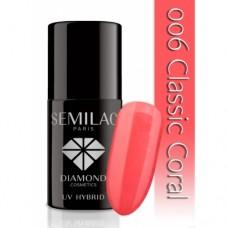 UV Hybrid Semilac 006 Classic Coral 7 ml