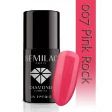 UV Hybrid Semilac 007 Pink Rock 7 ml