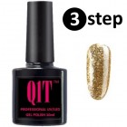 3 step UV nail polish- 10ml DIAMOND LINE No. 008