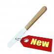 """""""DE LUXE""""  stainless steel waxing spatula"""