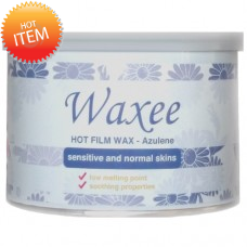 Hot Film Wax Azulene- 400ml can- for sensitive and normal skin