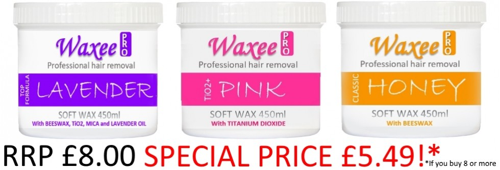 Wax pots 450ml