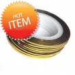 2mm Nail Striping Tape- Gold
