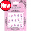 Nail art water stickers decal- BLE164