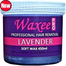 TOP FORMULA Lavender soft wax 450ml plastic pot