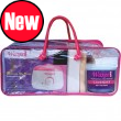 Complete MOBILE waxing kit STARTER soft wax 450ml pot & 500g film wax