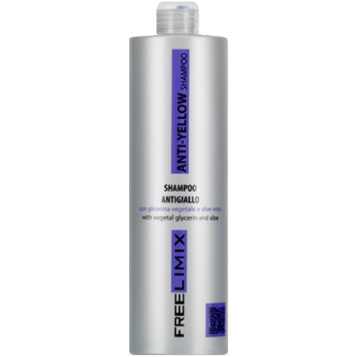 Anti-Yellow Shampoo 1000ml Freelimix. Made in Italy.