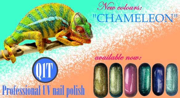 Q1T UV nail polish- Chameleon