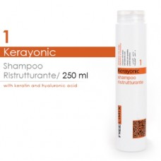 RESTRUCTURING SHAMPOO (with Keratin and Hyaluronic Acid ) 250ml