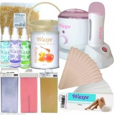 Multifunctional waxing kit for 800ml cans, film wax & 100ml cartridges
