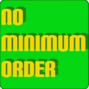 No minimum order!