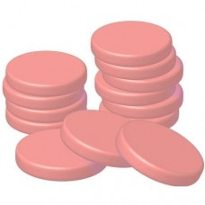 Pink hard wax discs- 1000ml