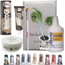 Eyebrow & eyelash tint dye kit (selection of colours )