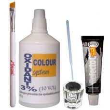 Eyebrow tint dye kit (selection of colours )