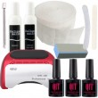 Q1T 3 step UV nail polish starter kit, 48W  led lamp